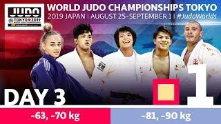 World Judo Championships 2019: Day 3 - Elimination