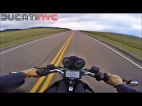 An Hour in Wyoming, 1000 Deer, Thunder Clouds, Bike Trouble, Cold v689