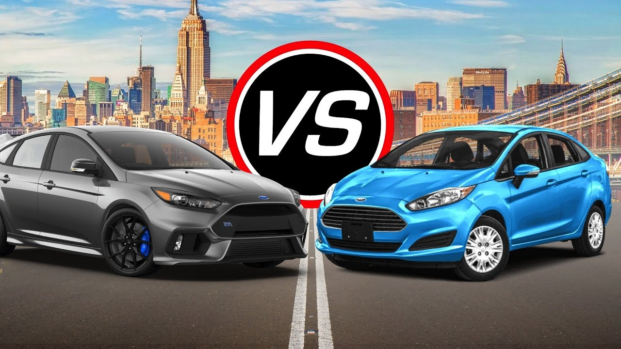 2016 Ford Focus Rs Vs Fiesta St Spec Comparison