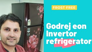 Godrej rt eon 245B double door refrigerator with inverter technology in Hindi