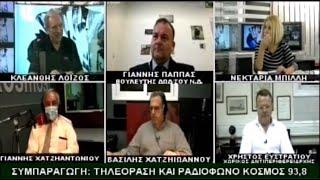 ΙΩΑΝΝΗΣ ΠΑΠΠΑΣ - TV KOSMOS (27-5-21)