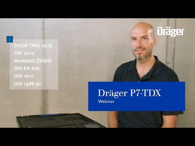 Dräger P7-TDX: Webinar