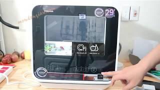 Máy rửa bát mini Toshiba DWS-22AVN