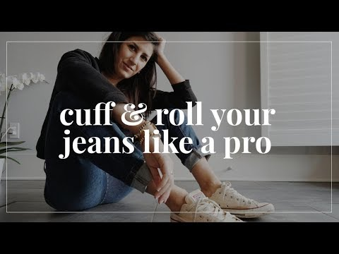 How & When to Cuff + Roll Your Jeans Like a Pro | Styling Closet Essentials |. http://bit.ly/2WDEyq3