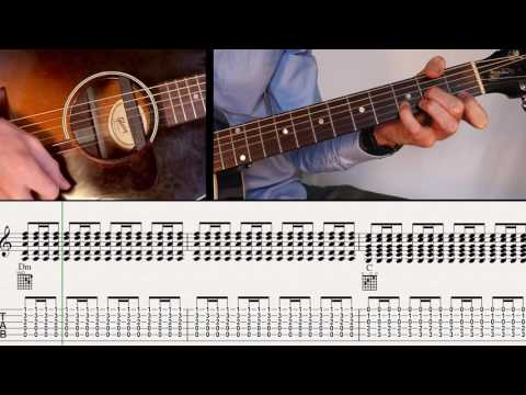 THE LAST OF THE MOHICANS/Ben-T-Zik Guitar duo tutorial #14/SCORE&TAB(Easy version)