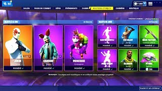 BOUTIQUE FORTNITE du 15 Mars 2019 ! ITEM SHOP March 15 2019 !