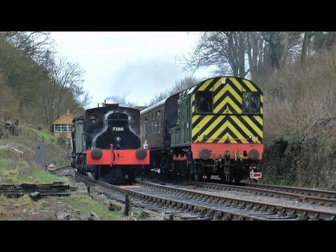 Somerset & Dorset Railway Midsomer Norton Gala 05-03-17