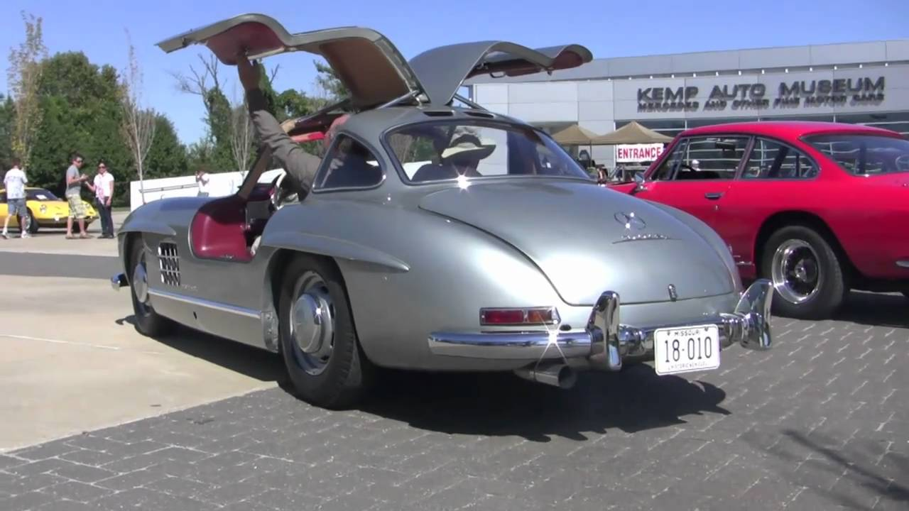 1954 mercedes 300 sl gullwing revving accelerating and. Black Bedroom Furniture Sets. Home Design Ideas