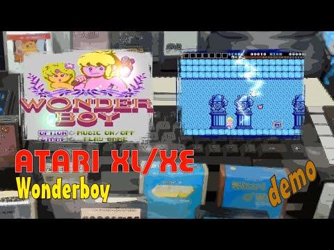 Atari XL/XE -=Wonderboy=- demo