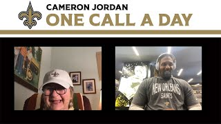 Cam Jordan's Surprise Phone Call | One Call a Day