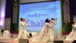 Break Every Chain-By Tasha Cobbs praise dance