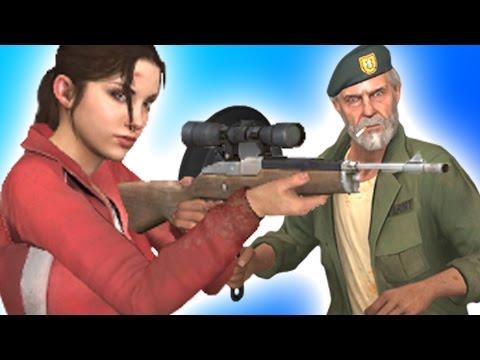 L4D2 DEATHMATCH! - Gun Game Mod (Left 4 Dead 2)