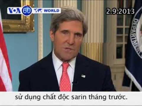 Kết Quả Xét Nghiệm Cho Thấy Syria đã Dùng Chất độc Sarin (VOA60)