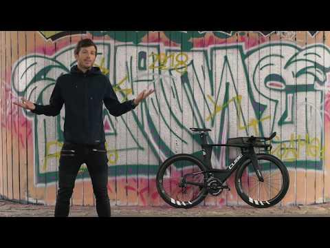 Cube Aerium C:68 mit Roadsailor Laufrädern, mein Bike für den Ironman 70.3 Marbella
