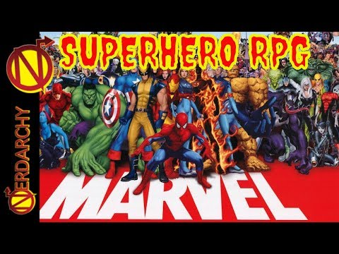 Like D&D, But with Marvel Superheroes Instead- Marvel Superheroes Role-Playing Game FASERIP
