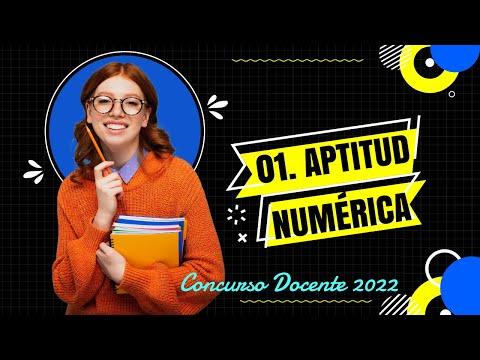 Pregunta 01 aptitud num rica concurso docente 2017 youtube for Concurso docente 2017