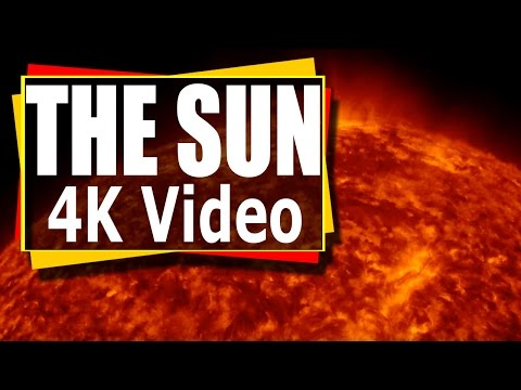 4K Video The Sun -  Incredible Time Lapse Video - Solar Flar