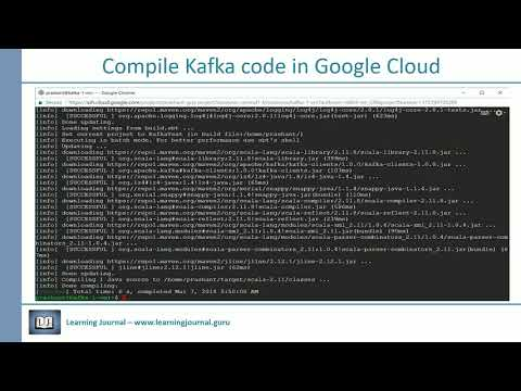 Apache Kafka - How to compile Kafka Code