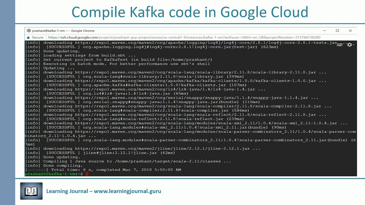 How to compile Kafka Code - Learning Journal