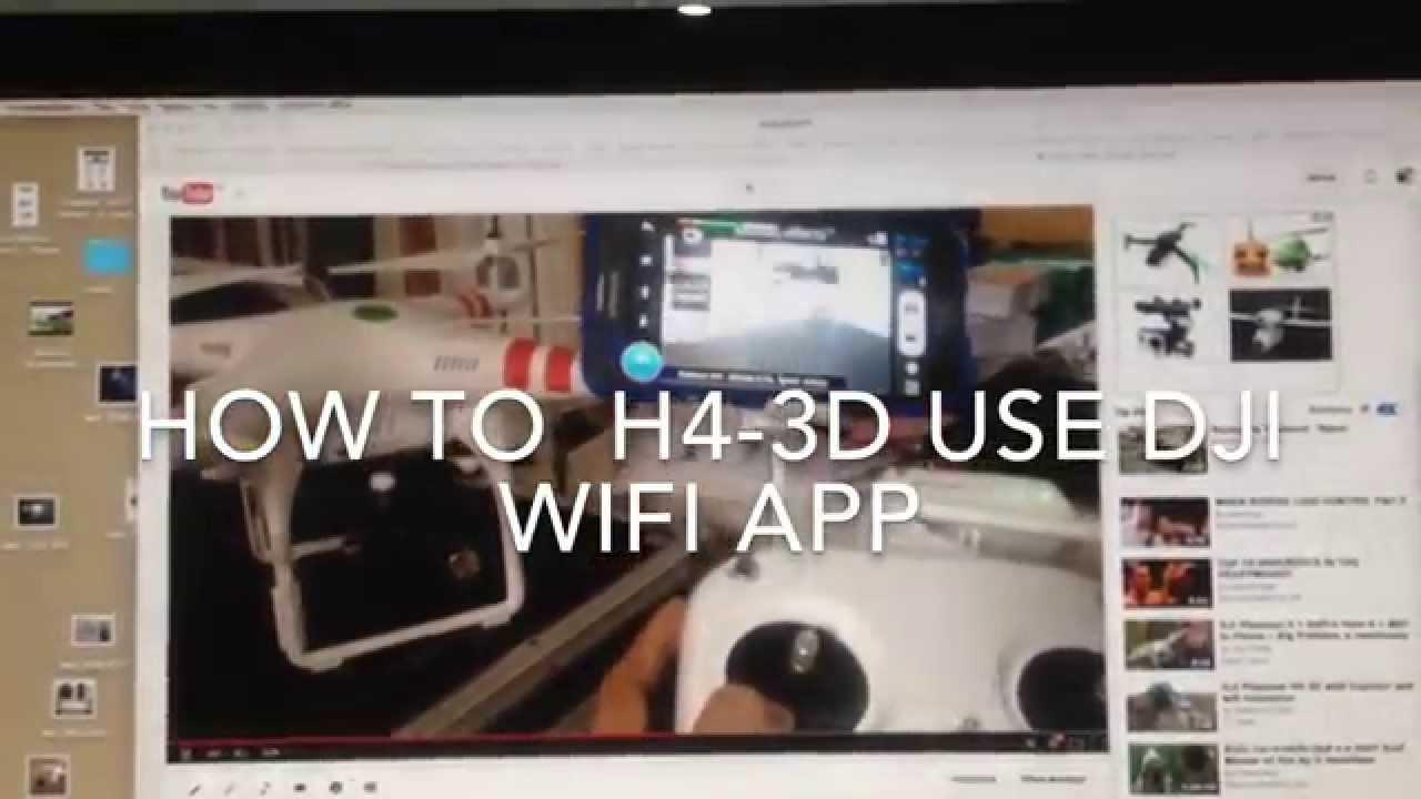 how to connect dji phantom to wifi