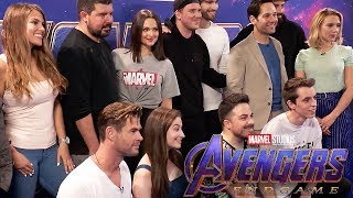 RENCONTRE AVEC LES AVENGERS - Thor, Black Widow, Ant-Man & Russo Brothers from Avengers Endgame