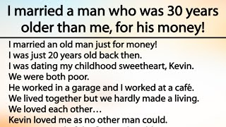 Husband than 30 years my me older is I Married