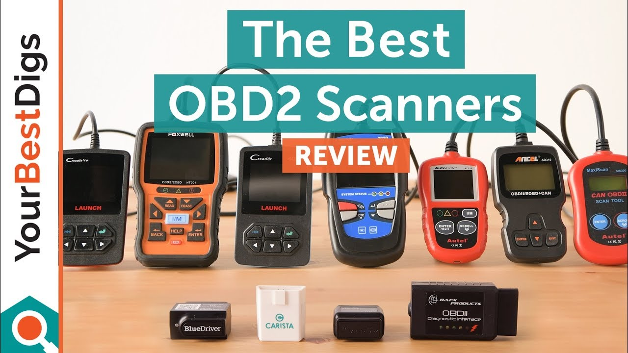 Best Photo Scanner 2019 The Best OBD2 Scanner of 2019   YouTube