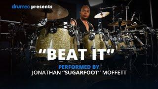 "Michael Jackson's Drummer Jonathan Moffett Performs ""Beat It"" On Drumeo!"