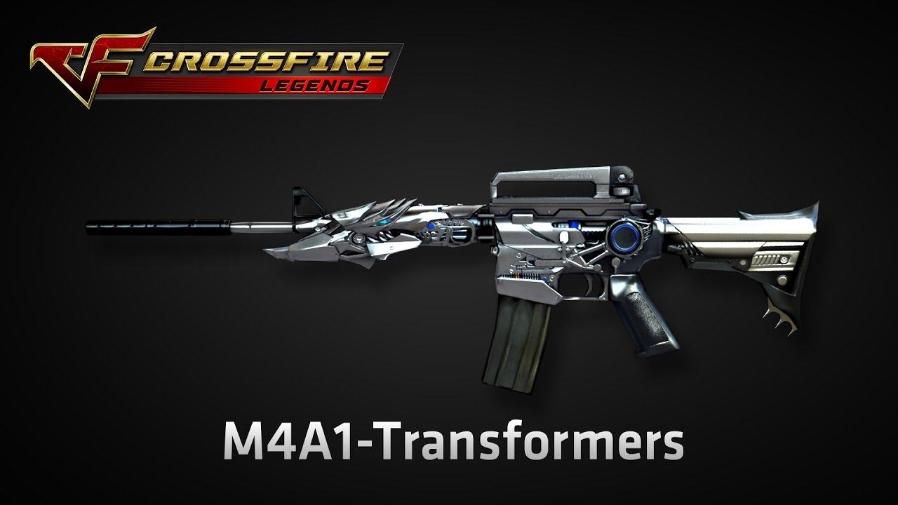 Wikia Crossfirelegends: [ CrossFire: Legends ] M4A1 TRANSFORMER
