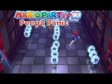 Mario Party 10 Peepa Panic Minigame Gameplay Hd
