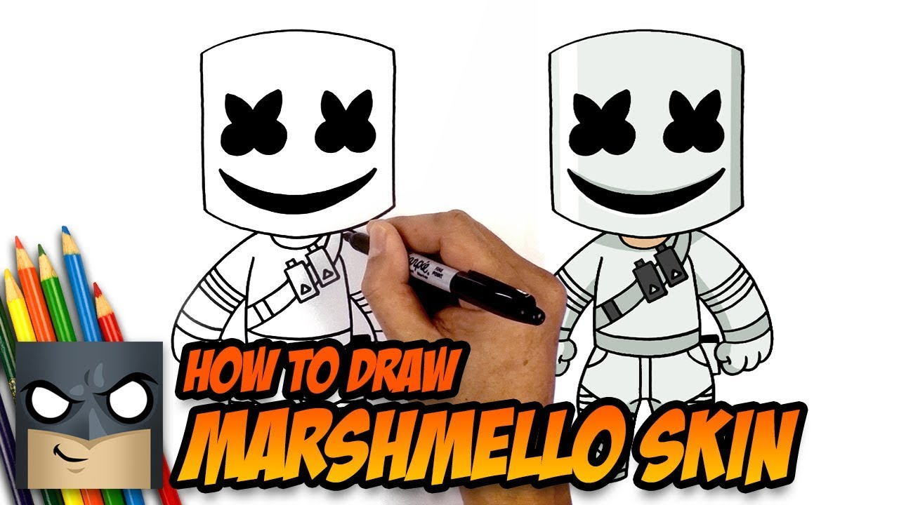 Fortnite How To Draw Gingerbread Skin Art Tutorial