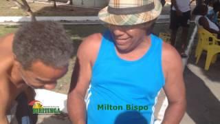 Milton Bispo faz churrasco para os jogadores da Seleção de Biritinga