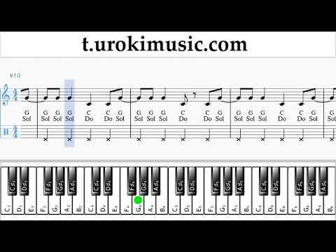 The Archer Sheet Music Piano (right hand) - Taylor Swift The Archer Tutorial thumbnail