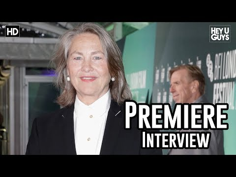 Cherry Jones | The Party Premiere Interview | London Film Festival