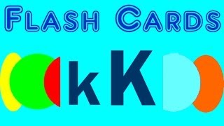 Flash Cards - english words starting with the letter K