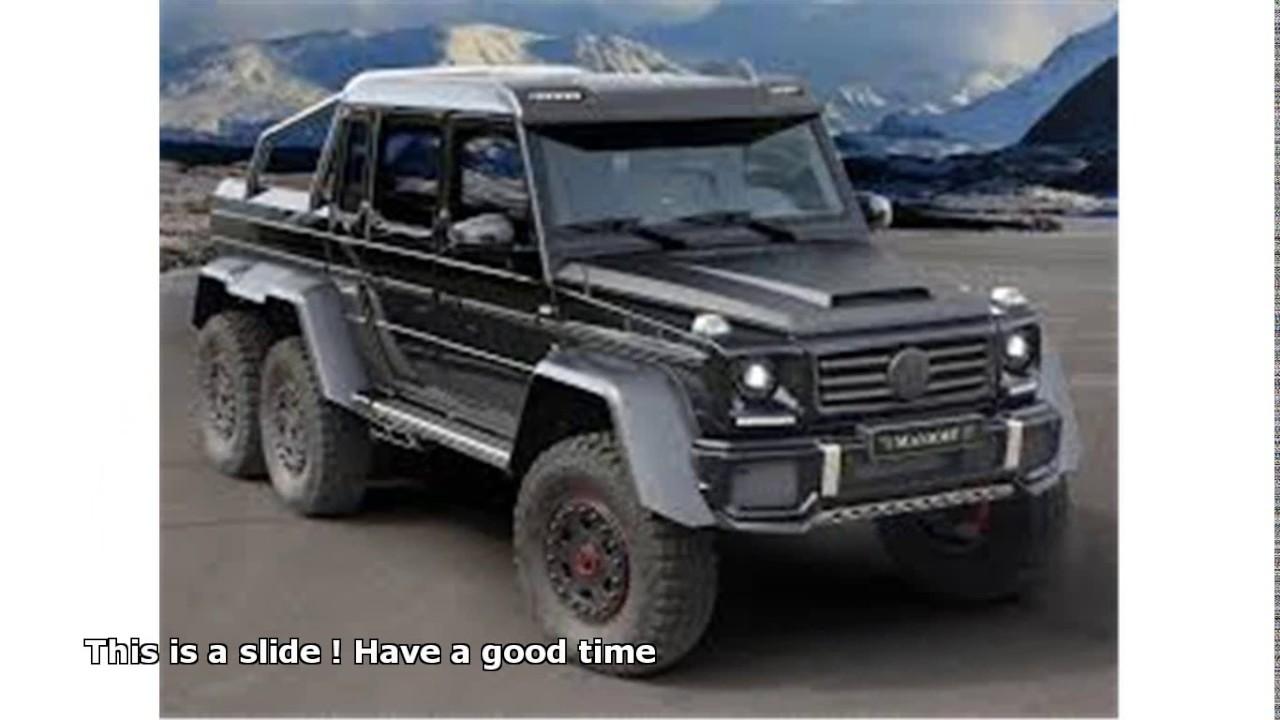 Mercedes Benz 6x6 Price Youtube