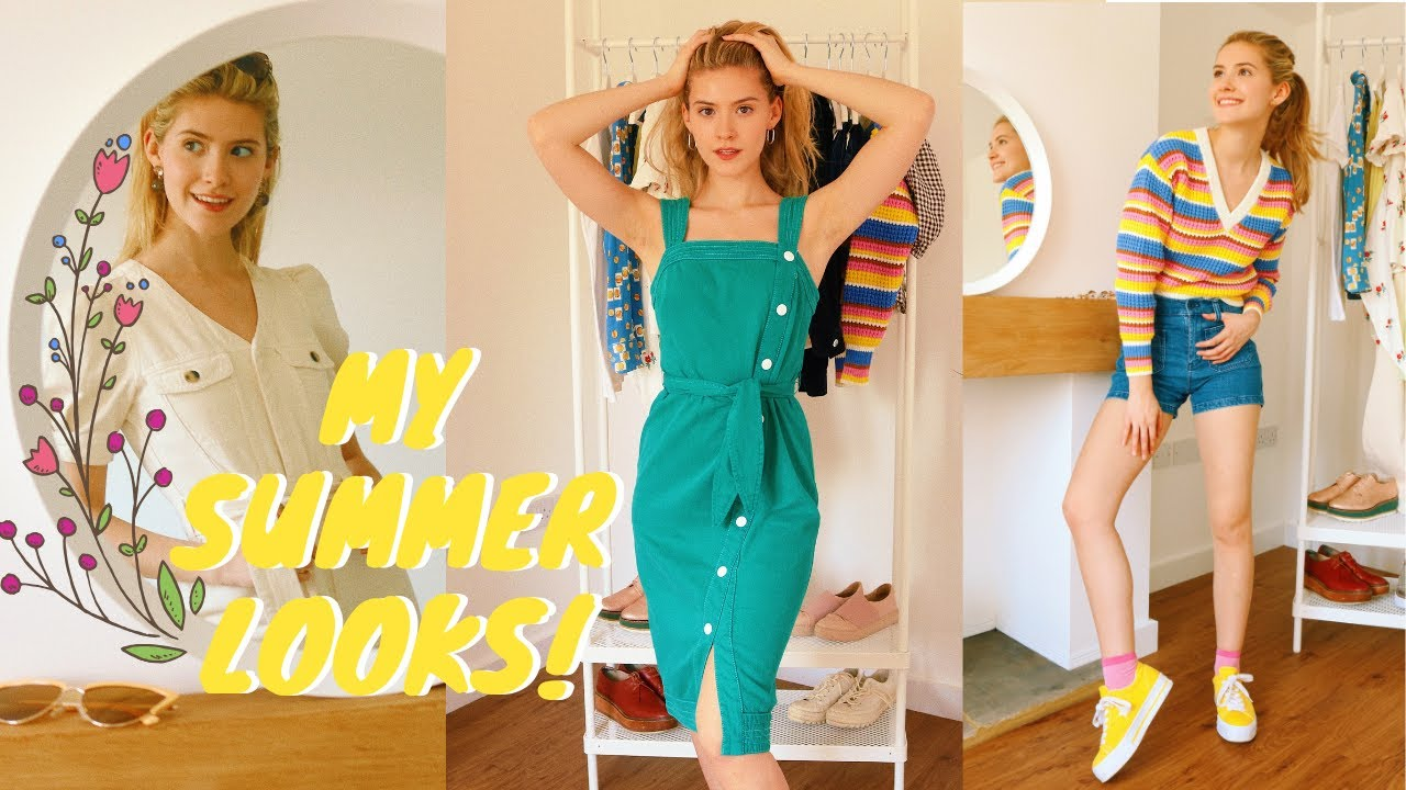 [VIDEO] - My Summer Looks 2019!!?LOOKBOOK 8