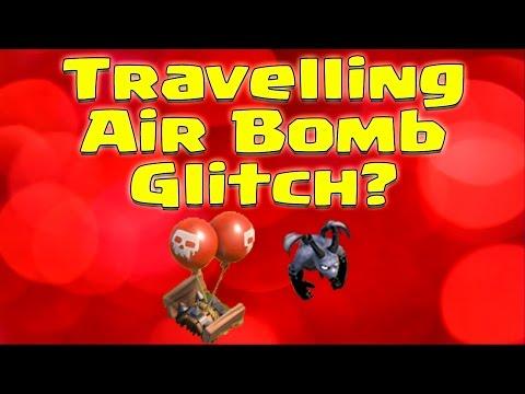 Clash of Clans - Travelling Air Bomb Glitch or Logic Update?