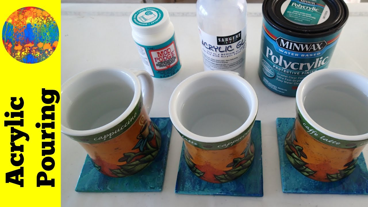 Best Finishes For Painted Ceramic Tiles Comparison Review Acrylic Pouring