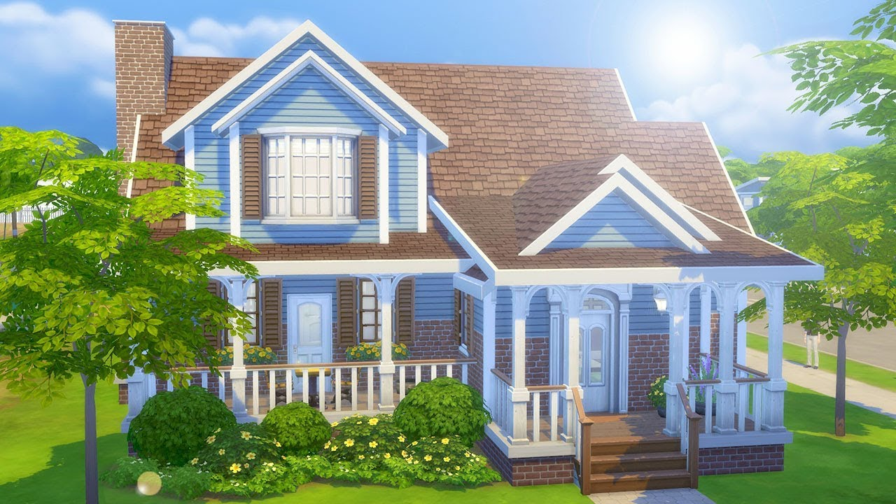 Perfect Family Home The Sims 4 Speed Build Youtube