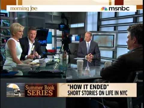 Jay McInerney on MSNBC's Morning Joe - July 29, 2010