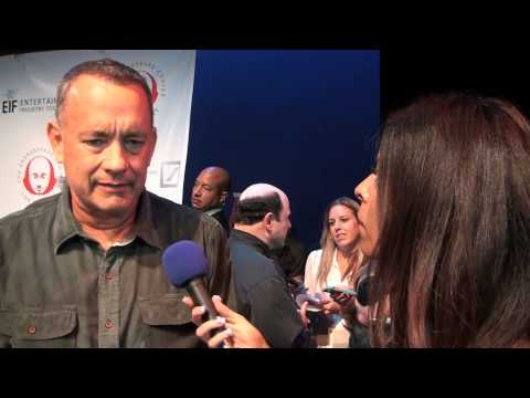 Tom Hanks and Rita Wilson at the Shakespeare Event Center