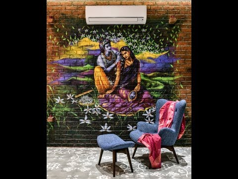 Brick Wall Mural Painting