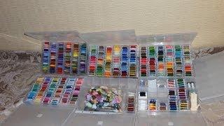 Коллекция и организация хранения ниток DMC(Вот и закончен этап сбора и организации моей коллекции ниток. Правда назвать это полноценно коллекцией..., 2014-06-25T07:59:04.000Z)