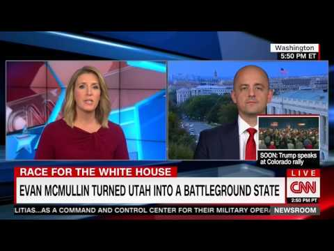 Evan McMullin on CNN Discusses Turning Utah Into a Battleground