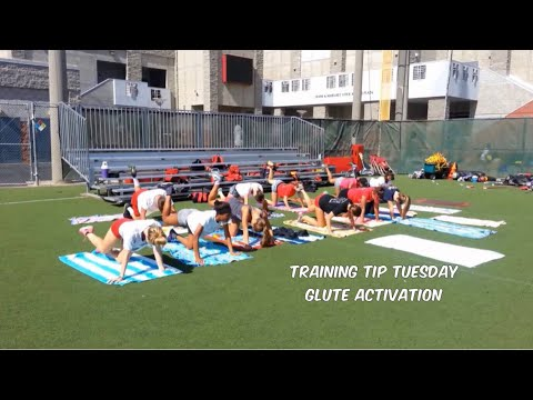 Track and Field - Training Tip Tuesday - Glute Activation