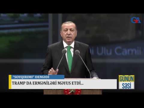 TRAMP DA ERMƏNİLƏRİ MƏYUS ETDİ