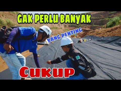 Instalasi Geotextile Geoforce Indonesia