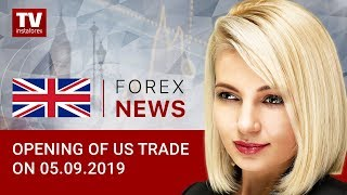 InstaForex tv news: 05.09.2019: USD declines as appetite for risk rises (USDX, EUR/USD, USD/CAD)