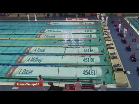 Lancashire County Swimming Championships 2018 Session 4